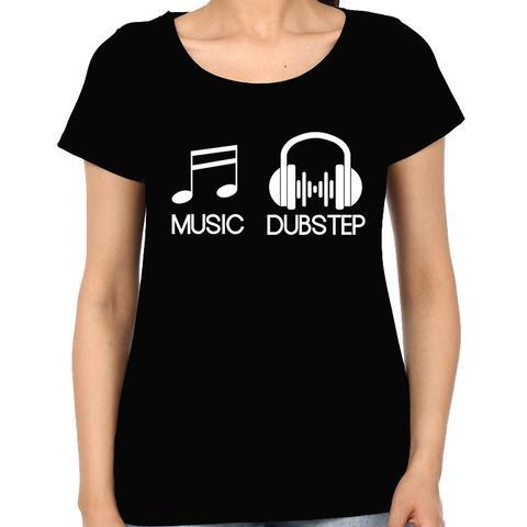 Music Dubstep Woman Music t-shirt