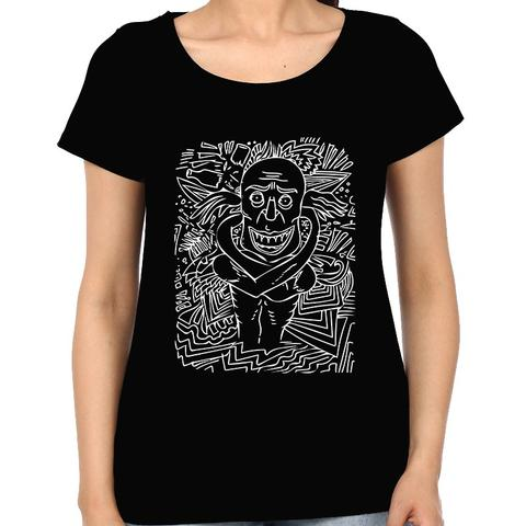 Deaf and Dead when High  psy Trippy Psychedelic  Woman Music t-shirt