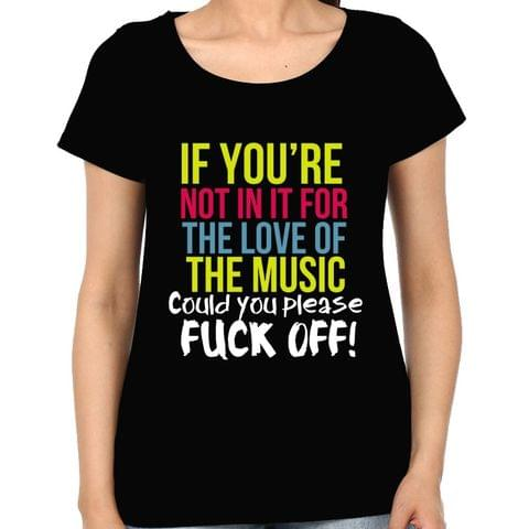 For the love of Music Woman Music t-shirt