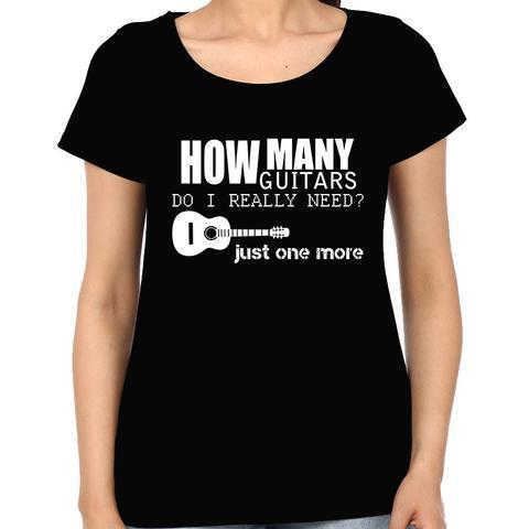 Too many Guitars Woman Music t-shirt