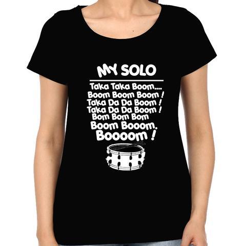 Drum Solo Woman Music t-shirt