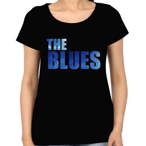The Blues  Woman Music t-shirt