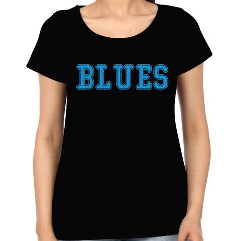 Blues  Woman Music t-shirt