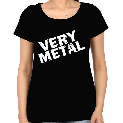 Very Metal Woman Music t-shirt