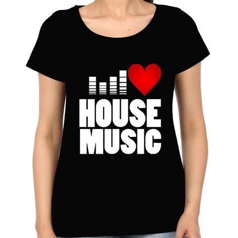 Love House Music  Woman Music t-shirt