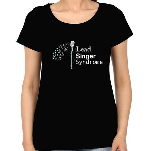 Lead Singer  Woman Music t-shirt