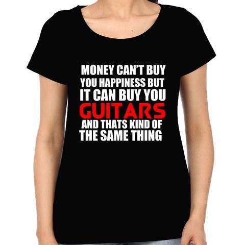 Get Guitar , Get Happiness Woman Music t-shirt
