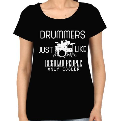 Cool Drummers Woman Music t-shirt