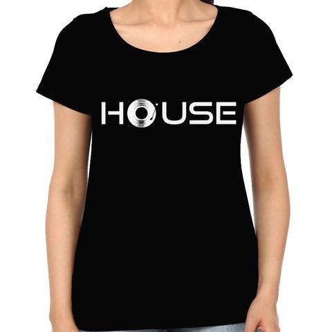 House Music Woman Music t-shirt