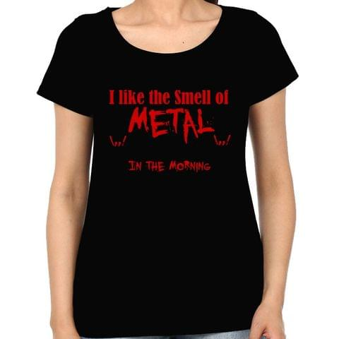 Smell of Metal Woman Music t-shirt