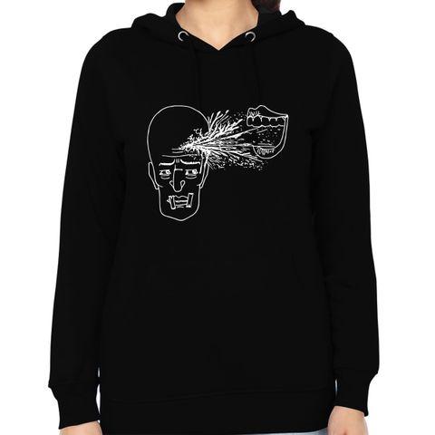 Make me Loose psy Trippy Psychedelic Woman Music Hoodie Sweatshirt