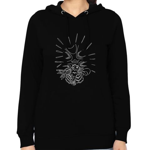 Pain of Universe on the head psy Trippy Psychedelic Woman Music Hoodie Sweatshirt
