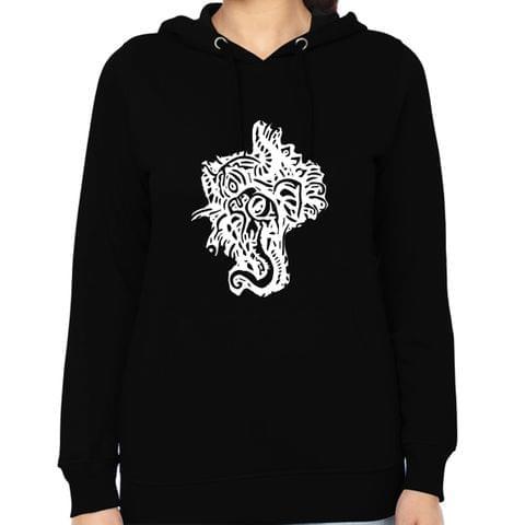 Psy Ganesha Tshirt  Woman Music Hoodie Sweatshirt