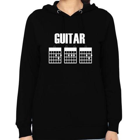Guitar DAD Woman Music Hoodie Sweatshirt