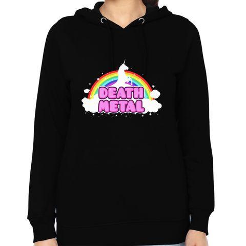 Death Metal Dreams round neck  Women Hoodie Sweatshirt