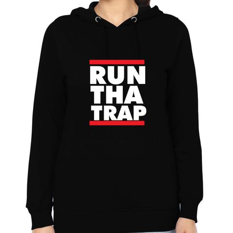 Run tha Trap Woman Music Hoodie Sweatshirt