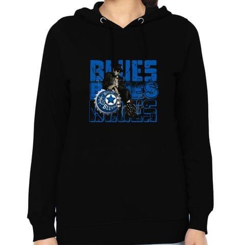 Blues Blues Blues Woman Music Hoodie Sweatshirt