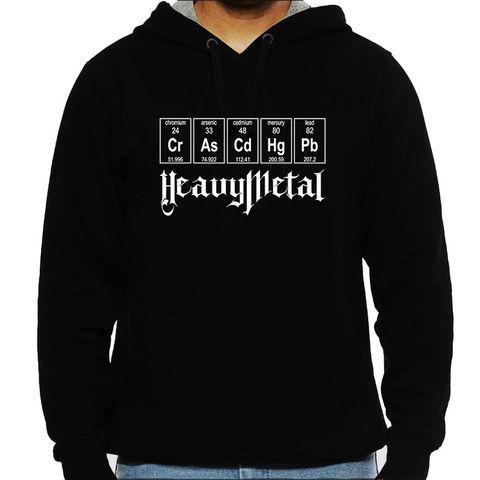 Love for Heavy Metal - Chemistry Mens Hooded Sweatshirt