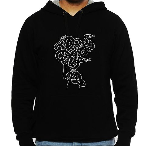 Not listening to Myself -  psy Trippy Psychedelic  Man Hooded Sweatshirt