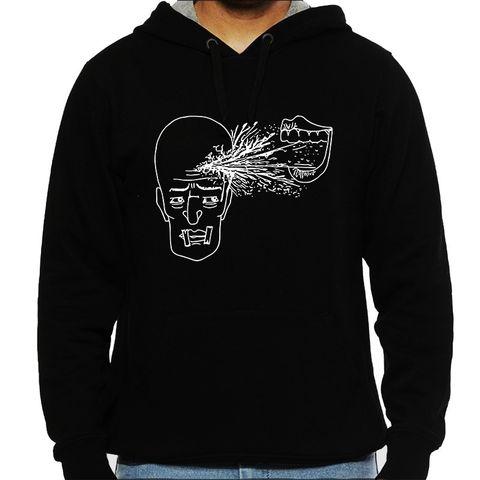 Make me Loose psy Trippy Psychedelic Man Hooded Sweatshirt