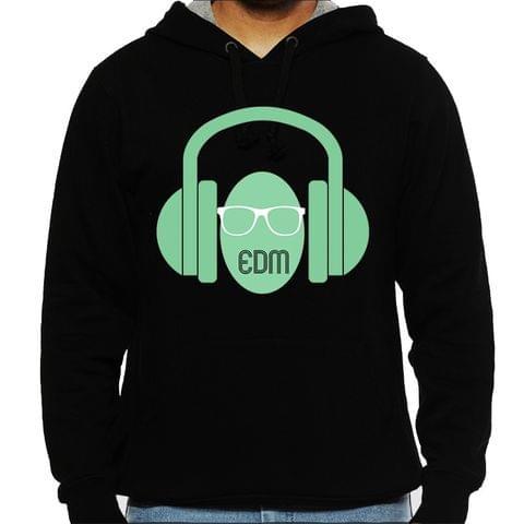 EDM Geek Man Hooded Sweatshirt