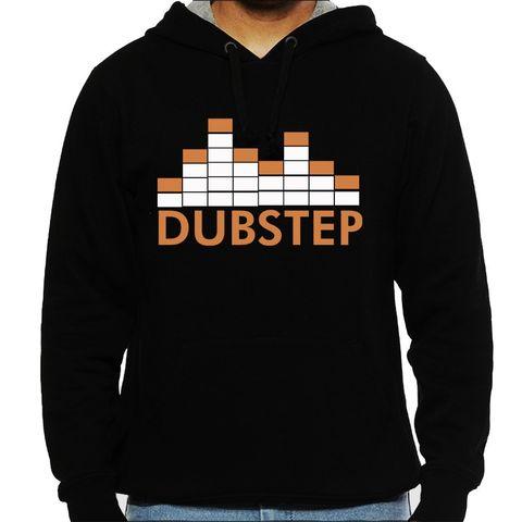 Dubstep  Man Hooded Sweatshirt