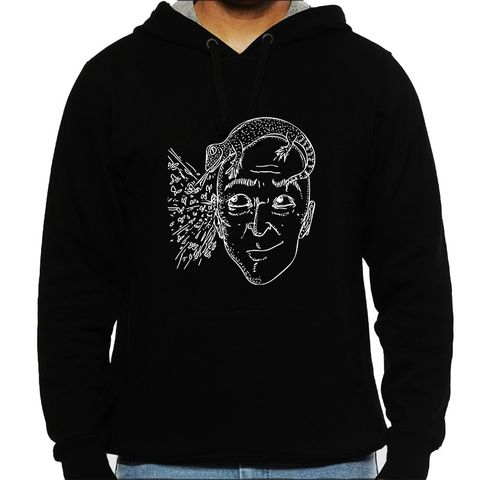 Change my Mind psy Trippy Psychedelic Man Hooded Sweatshirt