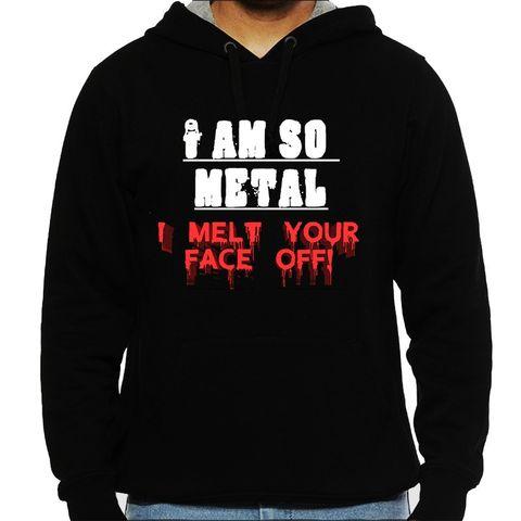 I am very Metal Man Hooded Sweatshirt