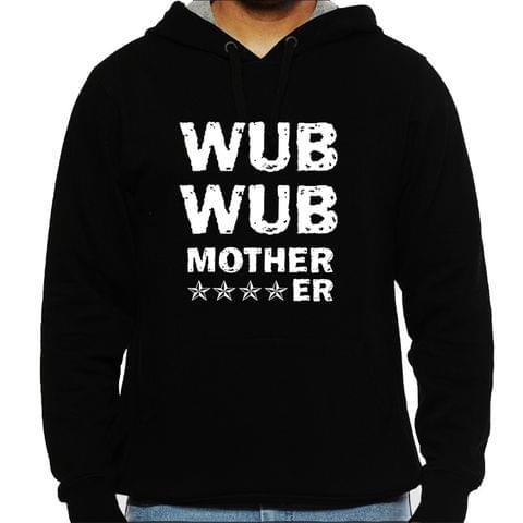 Dubstep - Motherf**ker Man Hooded Sweatshirt