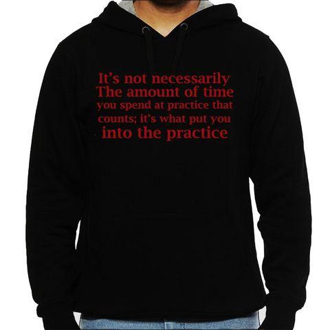 Band Practice Man Hooded Sweatshirt