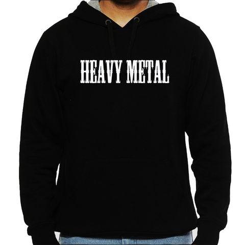 Heavy Metal Man Hooded Sweatshirt