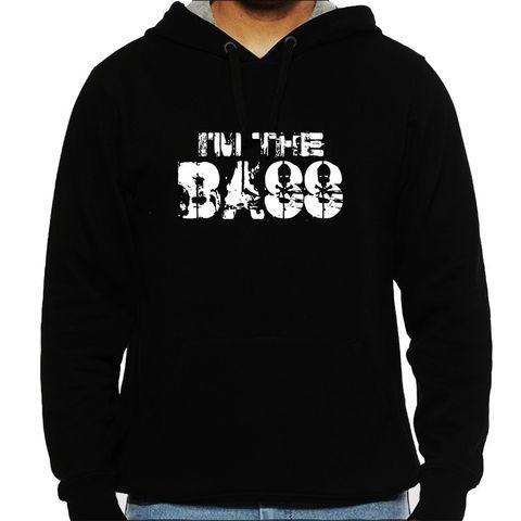 I am the Bass Man Hooded Sweatshirt
