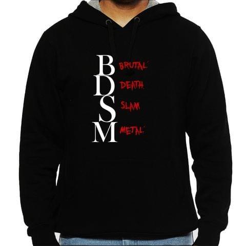 BDSM - Brutal Death Slam Metal Man Hooded Sweatshirt
