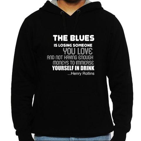 Only Blues Man Hooded Sweatshirt