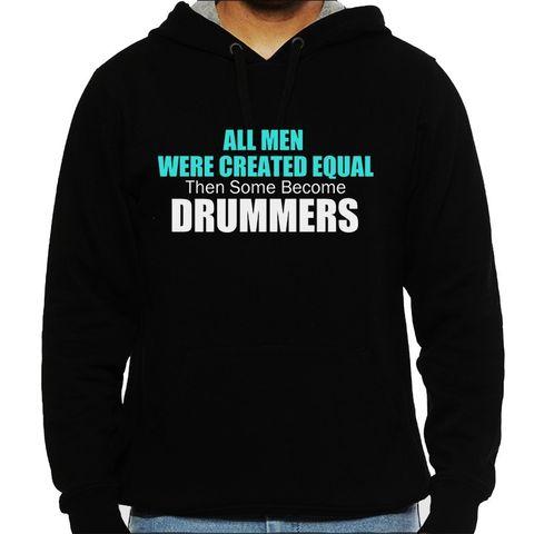 Drummers are not Normal Man Hooded Sweatshirt