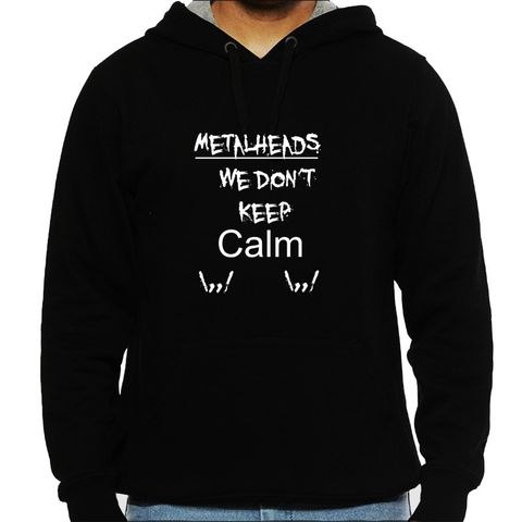 Metalhead Problem no 1 Man Hooded Sweatshirt