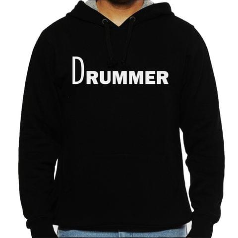 Drummer Man Hooded Sweatshirt