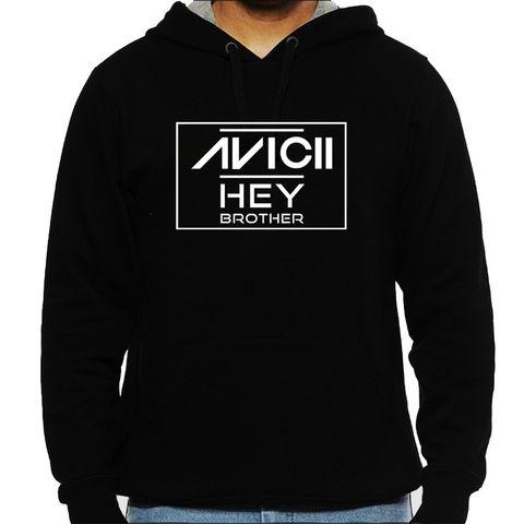Avicii - Hey Brother Man Hooded Sweatshirt