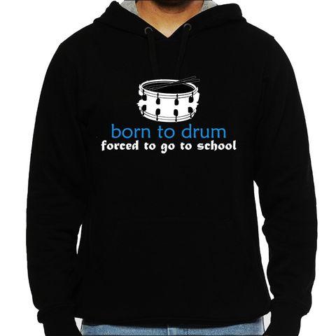 Born to Drum Man Hooded Sweatshirt