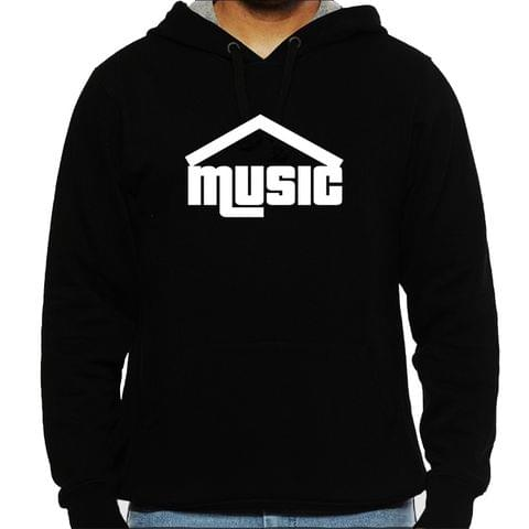 House Music Man Hooded Sweatshirt