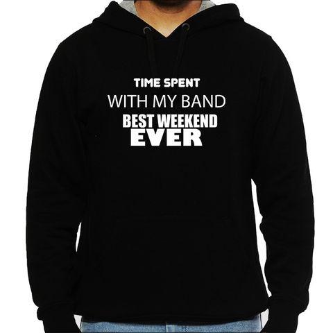 Weekend with my Band Man Hooded Sweatshirt