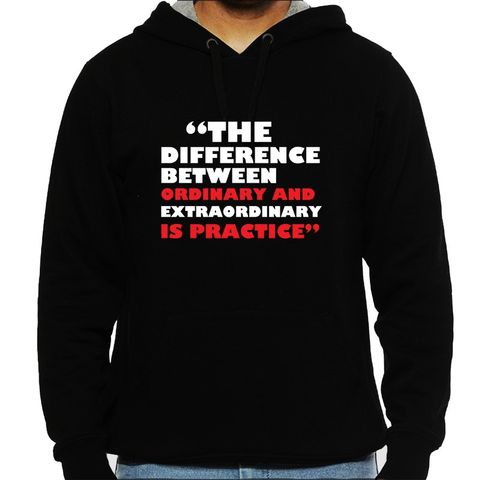 Band Practice make it Extraordinary Man Hooded Sweatshirt