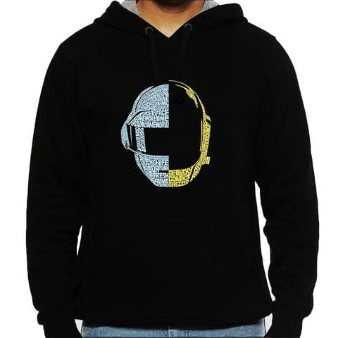 Daft Punk Man Hooded Sweatshirt