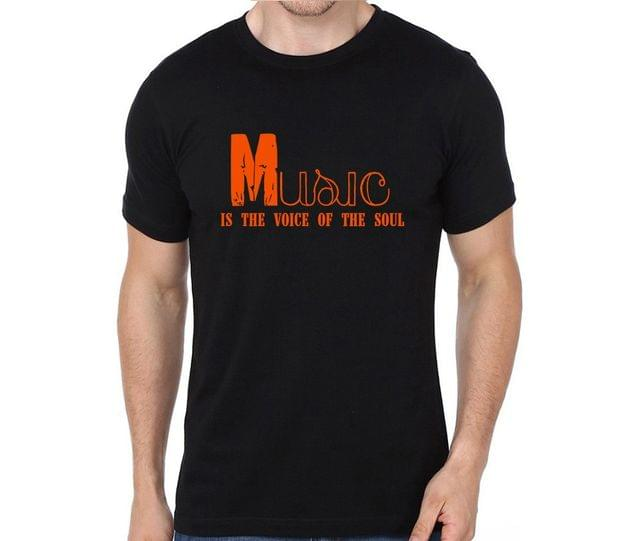 Music is voice of Soul T-shirt for Man, Woman , Kids - 3BEPEXE3YPVH