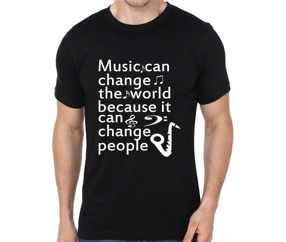 Music Changes People T-shirt for Man, Woman , Kids - 4Q8RBJ8T3XXE