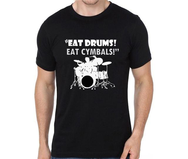 Eat Drums Eat Cymbals T-shirt for Man, Woman , Kids - 5L7MT2A169L5
