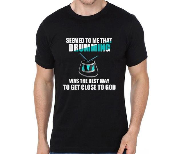 Drumming is GOD T-shirt for Man, Woman , Kids - 5S81BZJYPR1S