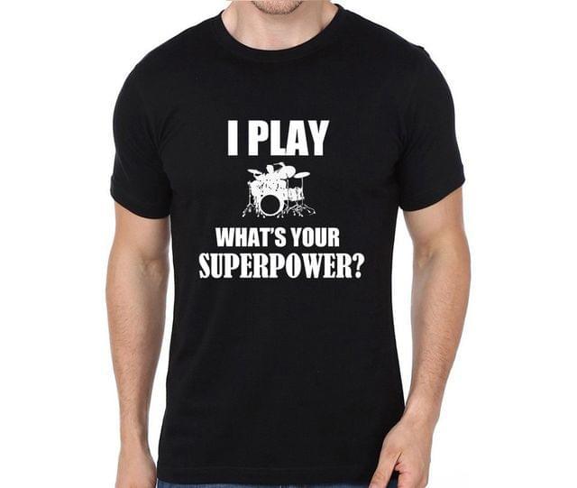 Drummer Superpower T-shirt for Man, Woman , Kids - 5N37QJK85A3V