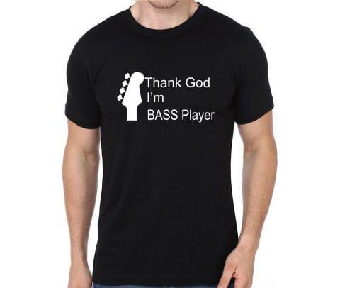 Thank god I am Bass Player T-shirt for Man, Woman , Kids - 8LFFZQ6W52FU
