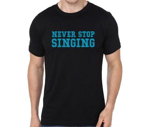 Never Stop Singing T-shirt for Man, Woman , Kids - 9V4N4RZSWS1K